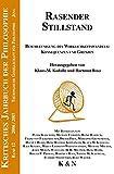 Rasender Stillstand: Beschleunigung des Wirklichkeitswandels: Konsequenzen und Grenzen (Kritisches Jahrbuch der Philosophie) -