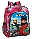 Mochila Junior Adapt.Carro Ladybug & Cat