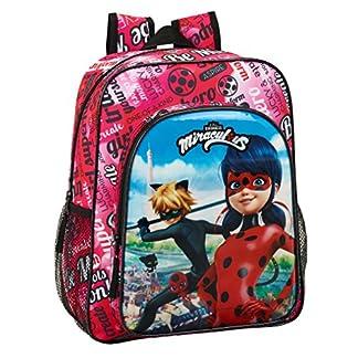 513z4PfQ%2BrL. SS324  - Ladybug & Cat Noir Mochila Junior niña Adaptable Carro.