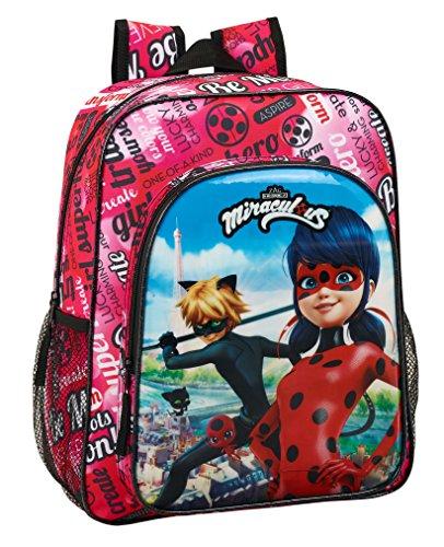 Mochila Junior Adapt.Carro Ladybug & Cat
