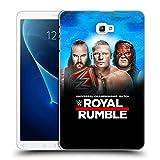 Head Case Designs Offizielle WWE Braun, Brock & Kane 2018 Royal Rumble Ruckseite Hülle für Samsung Galaxy Tab A 10.1 (2016)