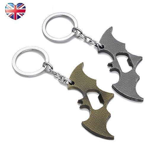 Batman Key Ring & Can Opener Multi Tool Gift Marvel DC Comic
