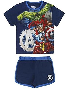 Avengers - Conjunto Pijama Manga Corta 2 piezas 100% algodón (5 años)