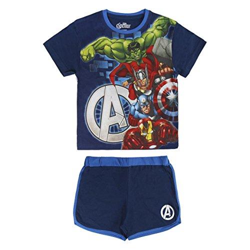 Avengers - Conjunto Pijama Manga Corta 2 piezas 100%...