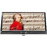 Fridolin Mozart Étui pour cartes de visite Multicolore