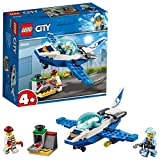 LEGO 60206 4+ City Police Sky Police Jet Patrol Aeroplane Toy, Easy to Build Air Transport Toys for Kids
