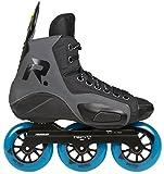 Powerslide REIGN Zeus Trinity Outdoor Hockey Skates schwarz, 43