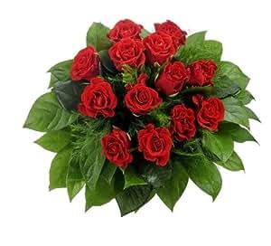 12 Rote Rosen, 1Strauß