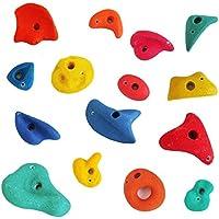 Piedras escalada, set 15 piezas, mix