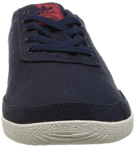adidas Herren Plimsole 3 Sneaker Blau
