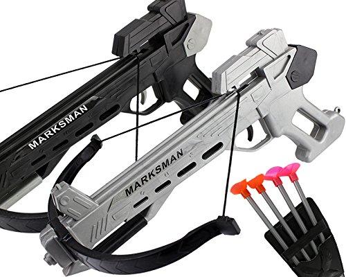 GYD MARKSMAN Spielzeug Handbow Sport Hand Armbrust Pistole , mit 4 Pfeilen No.005 (Gun Spielzeug Uzi)