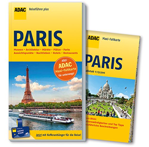 Preisvergleich Produktbild ADAC Reiseführer plus Paris: mit Maxi-Faltkarte zum Herausnehmen