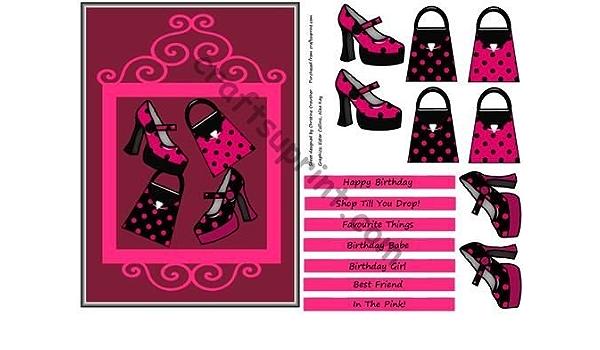 Hot Pink \u0026 Black Shoes n Bag Shop Till