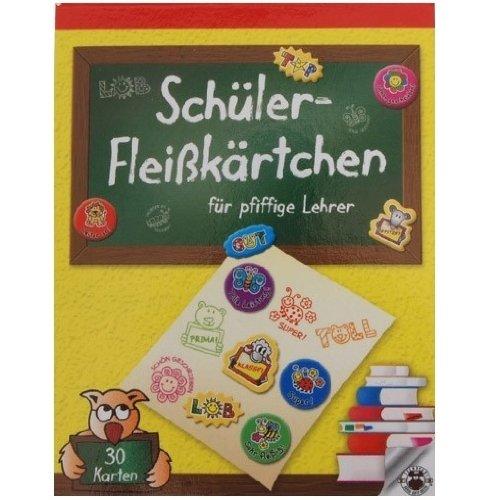 30 Schüler-Fleißkärtchen für pfiffige Lehrer