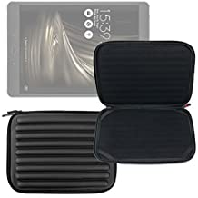 DURAGADGET Funda Negra Con Espuma De Memoria Para Tablet Asus ZenPad 3s 10 / Konrow K-Tab 1000+ / 1001+ / 701+ / 702+