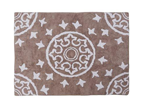 Aratextil Dune Tapis Enfant, Coton, Taupe, 120 x 160 cm