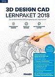 FRANZIS 3D DesignCAD Lernpaket 2018: Die professionelle CAD-Umgebung von Ingenieruen|2018|Für bis zu 3 Geräte|unbefristet nutzbar|Für Windows 10/8.1/8/7 PCs|Disc|Disc