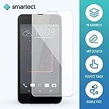 smartect® Panzerglas Displayschutzfolie für HTC Desire