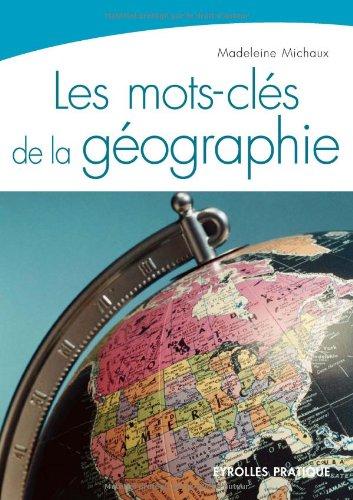 Les mots-clés de la géographie