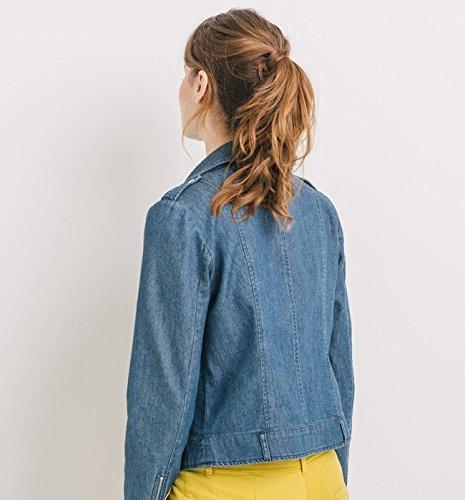Promod Blouson en jean Femme Jean moyen