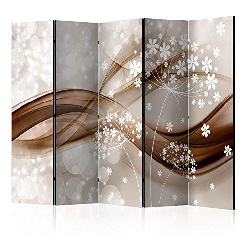 murando Paravent & Tableau daffichage en Liege: 225x172 cm Réversible Impression Recto-Verso sur Toile intissée 100% Opaque Foto Paravent decoratif en Bois avec Interieur Impression b-B-0127-z-c