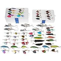 Dr.Fish pesca señuelos mucho trabajo 60 trucha perca hilanderos Lucio cucharas Señuelos plástico suave