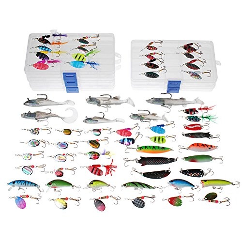 drfish-fishing-lure-job-lot-60-trout-perch-spinners-pike-spoons-soft-plastic-lure-shad-popper-crankb