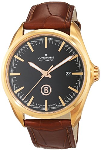 Junghans Men's Automatic Watch Bogner Willy Automatic Analogue XL Leather 027/7272.00