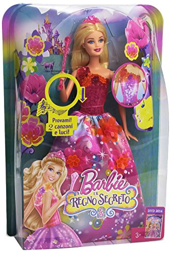 Regali Di Natale Bimbo 7 Anni.Barbie Ccf70 La Principessa Alexa
