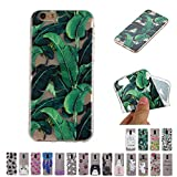 V-Ted Coque Apple iPhone 7 Plus 8 Plus Tropical Feuilles Silicone Ultra Fine Mince...