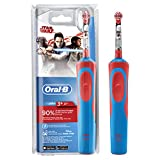 Oral-B Kids Electric Rechargeable Toothbrush Featuring Star Wars Characters