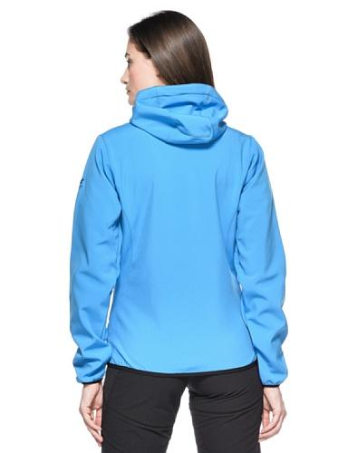 SALEWA 00-0000022612 Veste à capuche pour femme City Sw Hoodie Bleu