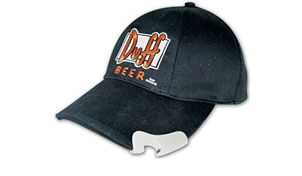 eedbac1a12c0b  The Simpsons - Duff Beer Baseball Cap with Embroidered Logo and Bottle  Opener Cap  Amazon.co.uk  Sports   Outdoors