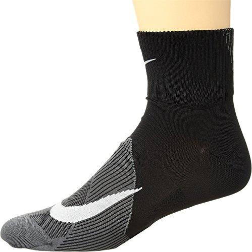 Nike Unisex U Nk Spark Ltwt Ankle Socks , black/dark grey/White , 44-45.5 EU (Nike Herren Running Socken)