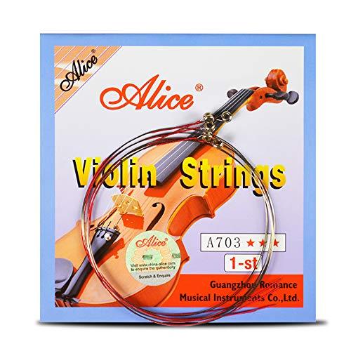 Juego de 4 cuerdas de violín 1st-44