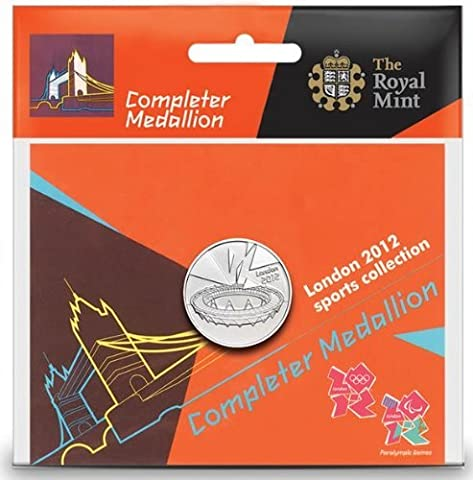 London 2012 Olympic Sports Collection Completer Medallion