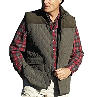 Mens Champion Country Clothing Arundel Fleece Lined BodyWarmer Gilet Olive 2XL
