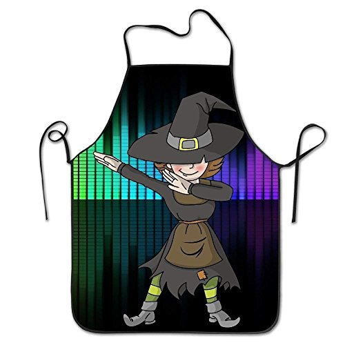 een Scary Night in The Cemetery Durable Unisex Grilling Apron ()