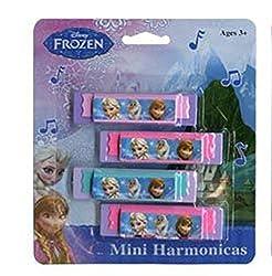 Disney Frozen 4pk Mini Harmonicas