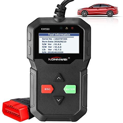 OBD2 Diagnosegerät, Nasharia Klassisch Verbesserter Universal USB Kabel Automotor Fehler-Code KFZ Auslesegerät Diagnose Scanner für alle OBD II/EOBD Protokoll Auto Fahrzeuge ab 1996
