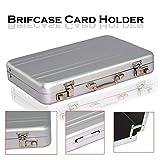 Storite New Designer Briefcase Style Credit / Debit / Visiting Business Card Holder