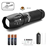 amciVision X800 with Cree XP-L V6 T6 LED Tactical Flashlight Bike Zoom able