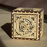 UGEARS 70011 - Safe Tresor, 3D-Holzbausatz ohne Klebstoff