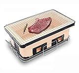 J&A Barbecue-Grill Im Japanischen Stil, Camping-Grill Im Freien, Hand-Schwerer Grill