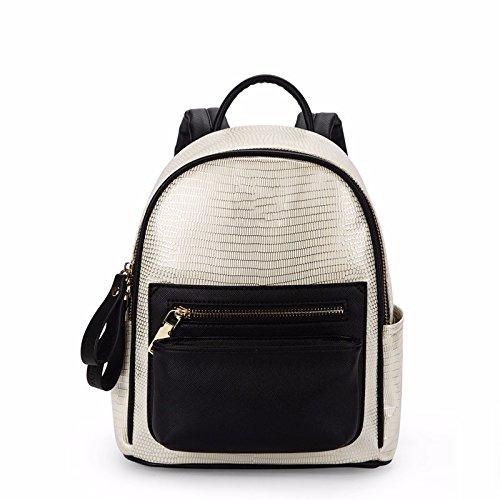 neuer rucksack weibliche pu - straße freizeit - mode kleinen rucksack,reis schwarz reis schwarz