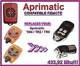 Aprimatic TR2 / TR4 / TM4 Compatible mandos a destancia. 433,92Mhz