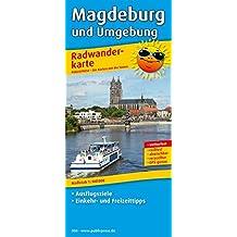 Magdeburg und Umgebung: Radwanderkarte mit Ausflugszielen, Einkehr- & Freizeittipps, wetterfest, reissfest, abwischbar, GPS-genau. 1:100000 (Radkarte / RK)