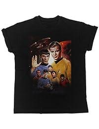 Star Trek Mr Spock Movie Poster Funny Gift Designer Unisex T-Shirt