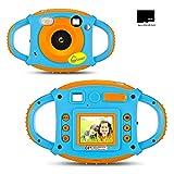 iLifeSmart Kinder Kamera Wiederaufladbar Digital Kamera für Kinder Tragbar Kinderkamera Camcorder 5 Megapixel 1,77 Zoll Display mit USB Kabel und 32G SD Karte
