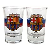 #9: F.C. Barcelona 2pk Shot Glass Set CR